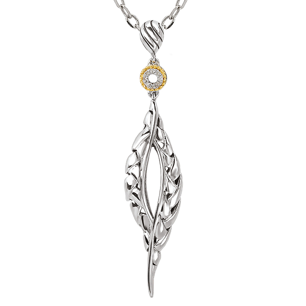 Ladies Fashion Diamond Pendant by Eleganza