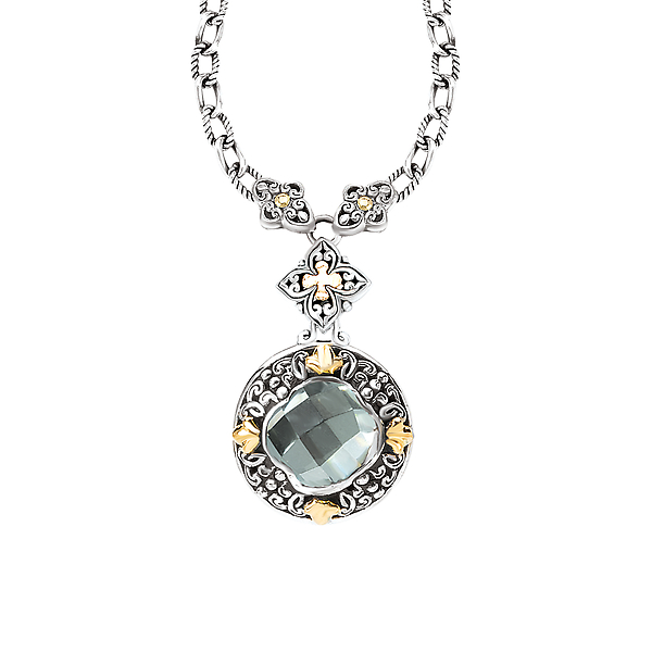 Ladies Fashion Gemstone Necklace by Eleganza