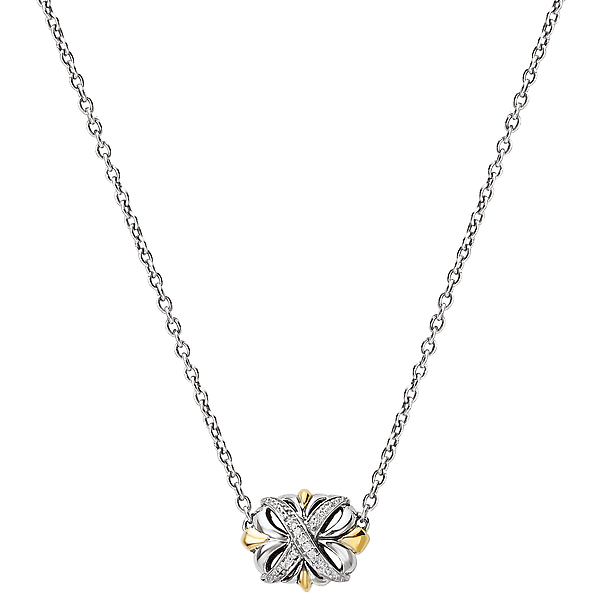 Ladies Fashion Diamond Necklace by Eleganza