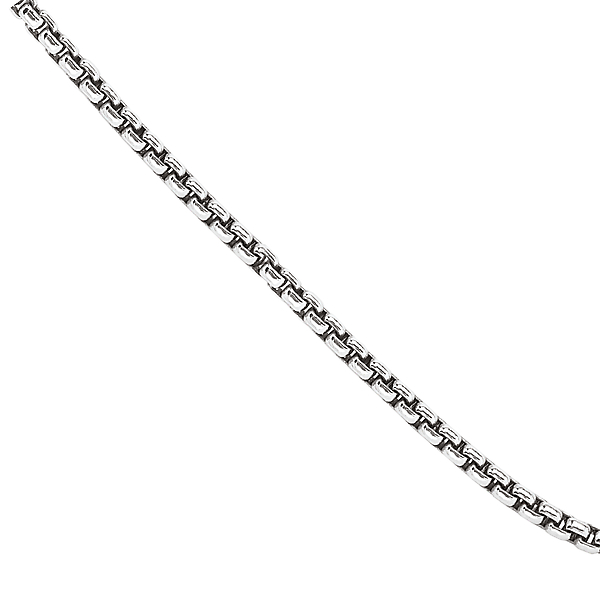 Necklaces - Sterling Silver Puff Link Chain - image #2