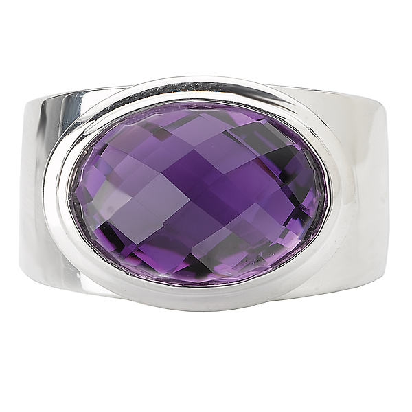 Rings - Ladies Fashion Gemstone Ring - image 4
