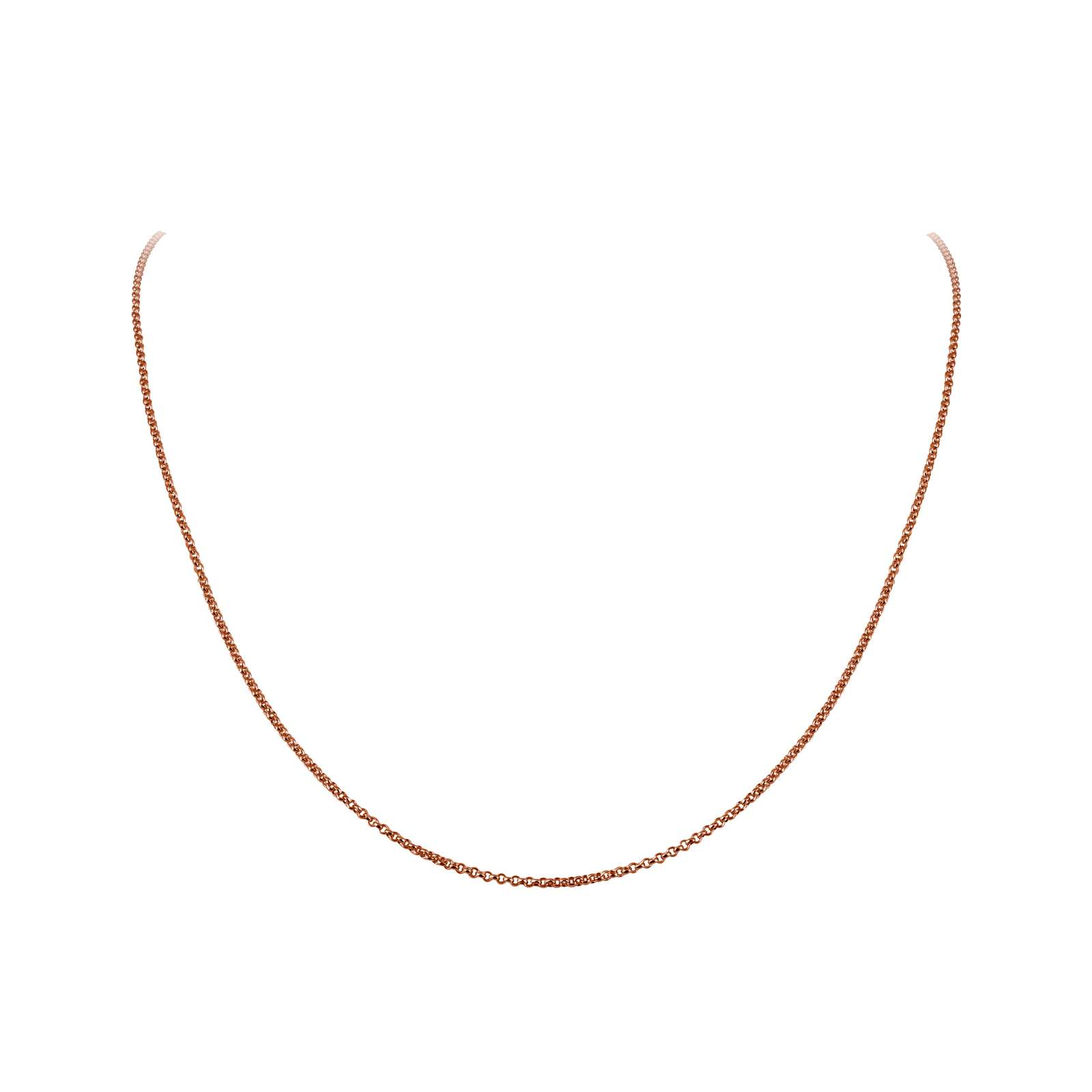Classic No Stone Rose Gold Chain - Simple and versatile. This Lafonn chain is in rose gold plated sterling silver.