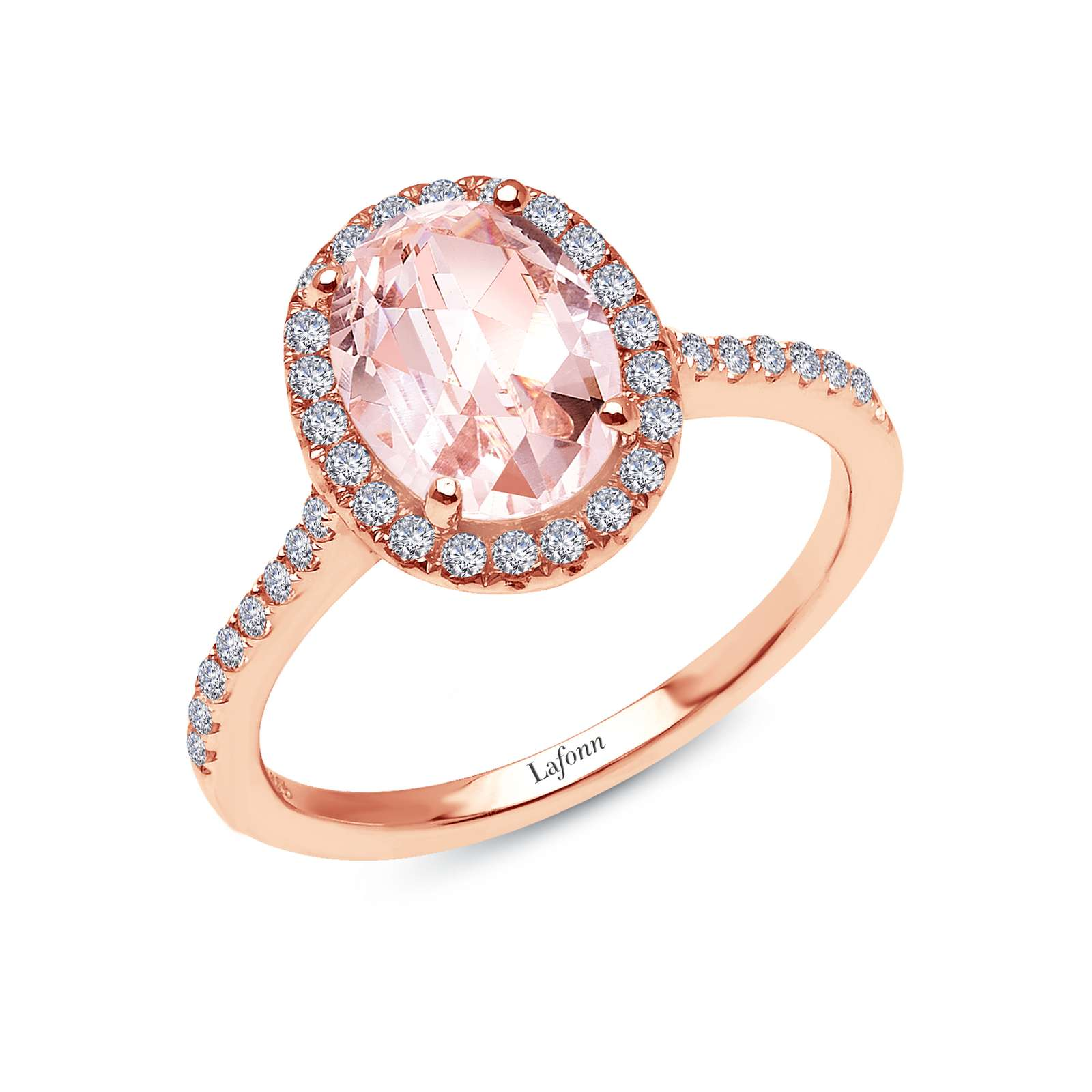 Classic Rose Gold Ring by Lafonn