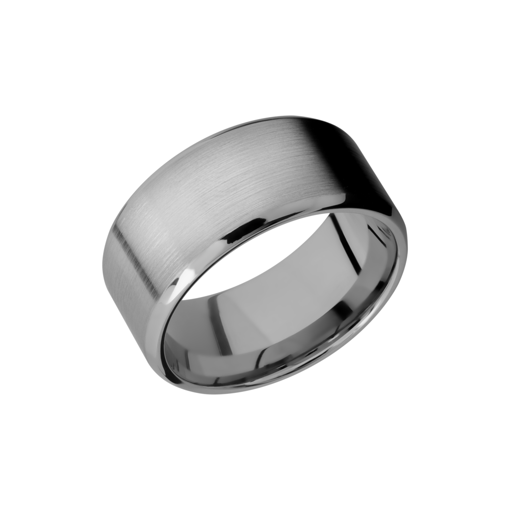 Titanium 100 Beveled Band  by Lashbrook Designs