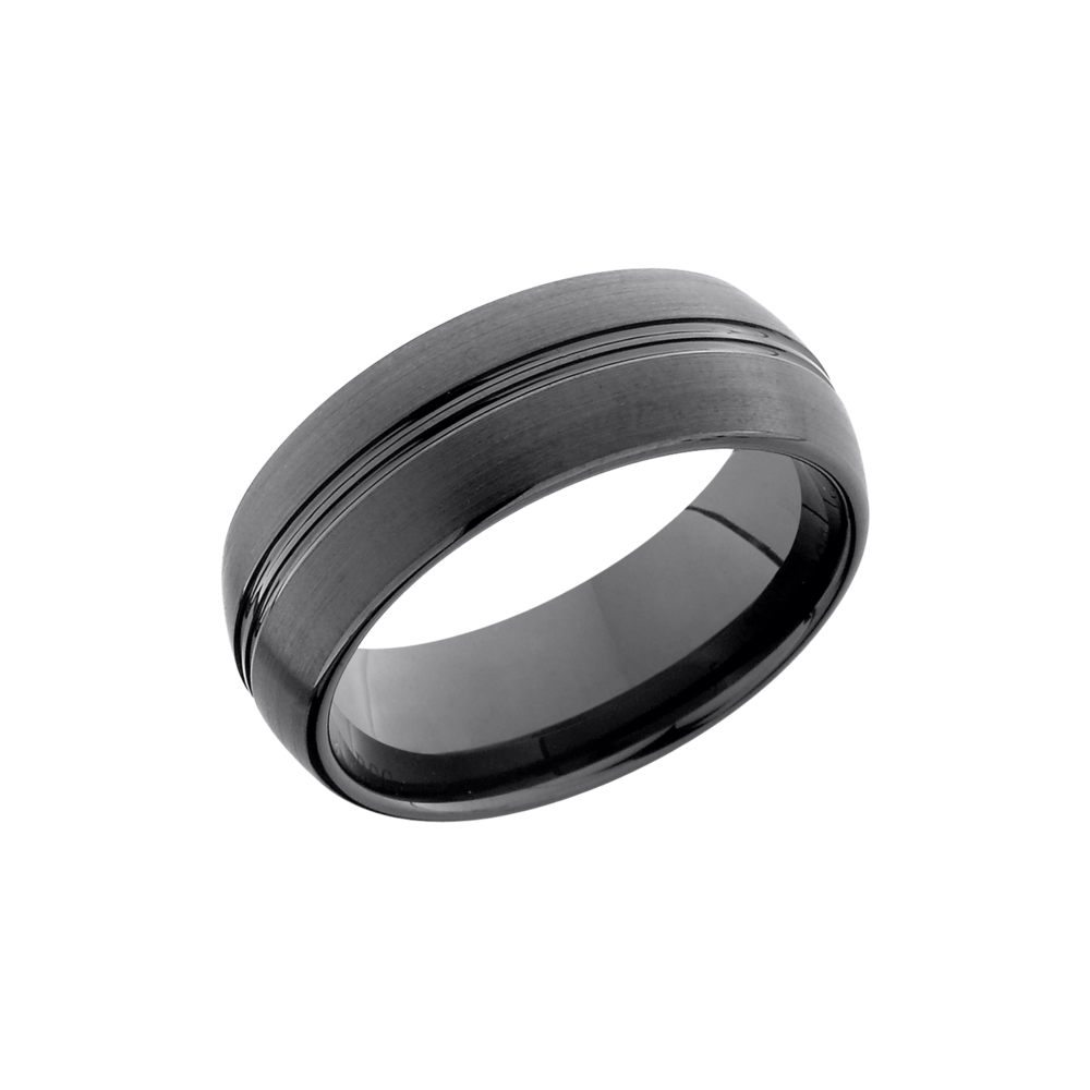 Tungsten Ceramic 8mm Band by Lashbrook Designs