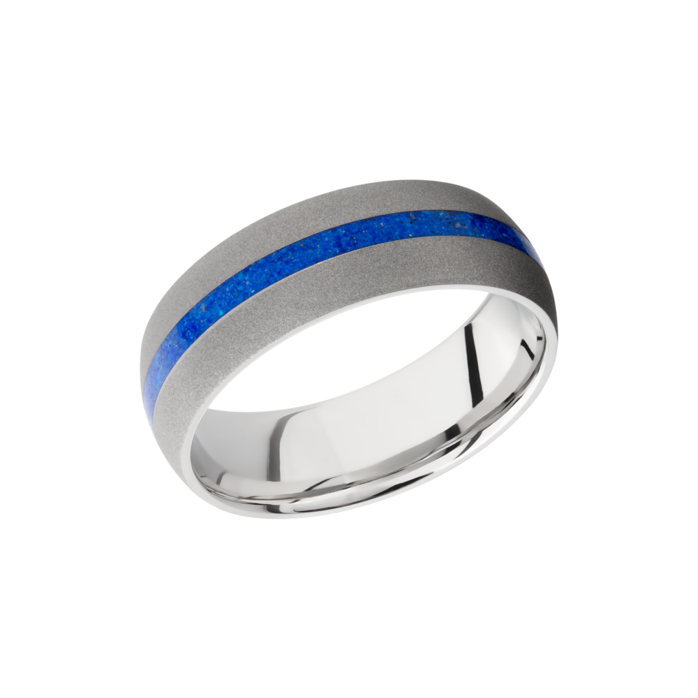 Cobalt Chrome 8mm Band by Lashbrook Designs
