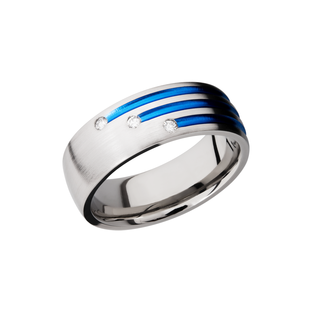 Titanium Wedding Band by Lashbrook Designs
