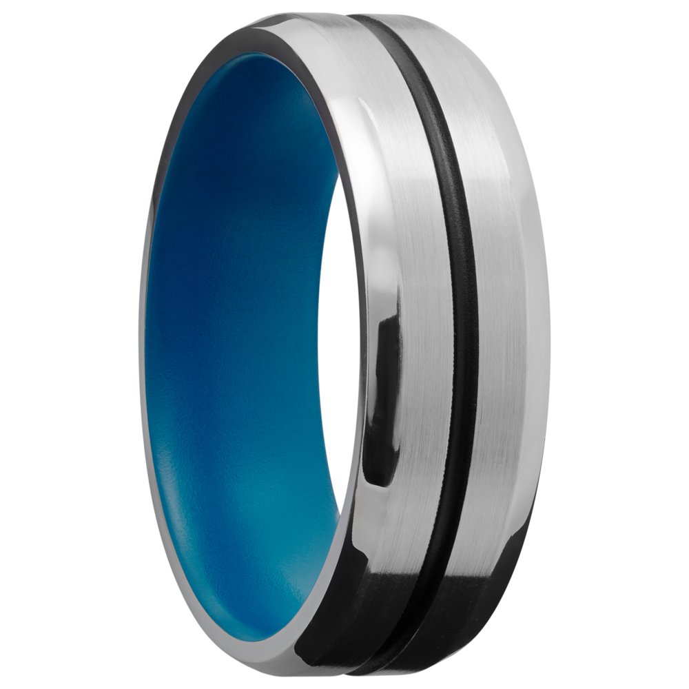Wedding Bands - Cobalt Chrome Wedding Band - image #2