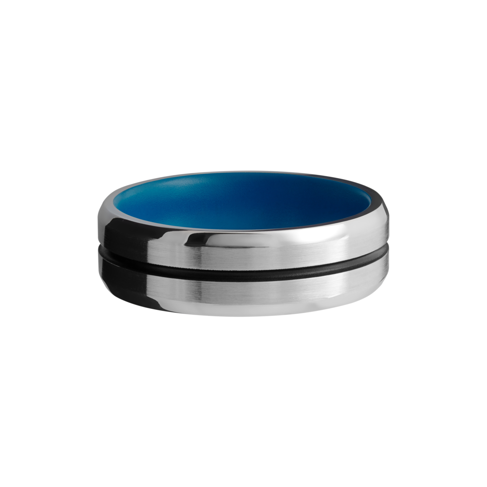 Wedding Bands - Cobalt Chrome Wedding Band - image #3