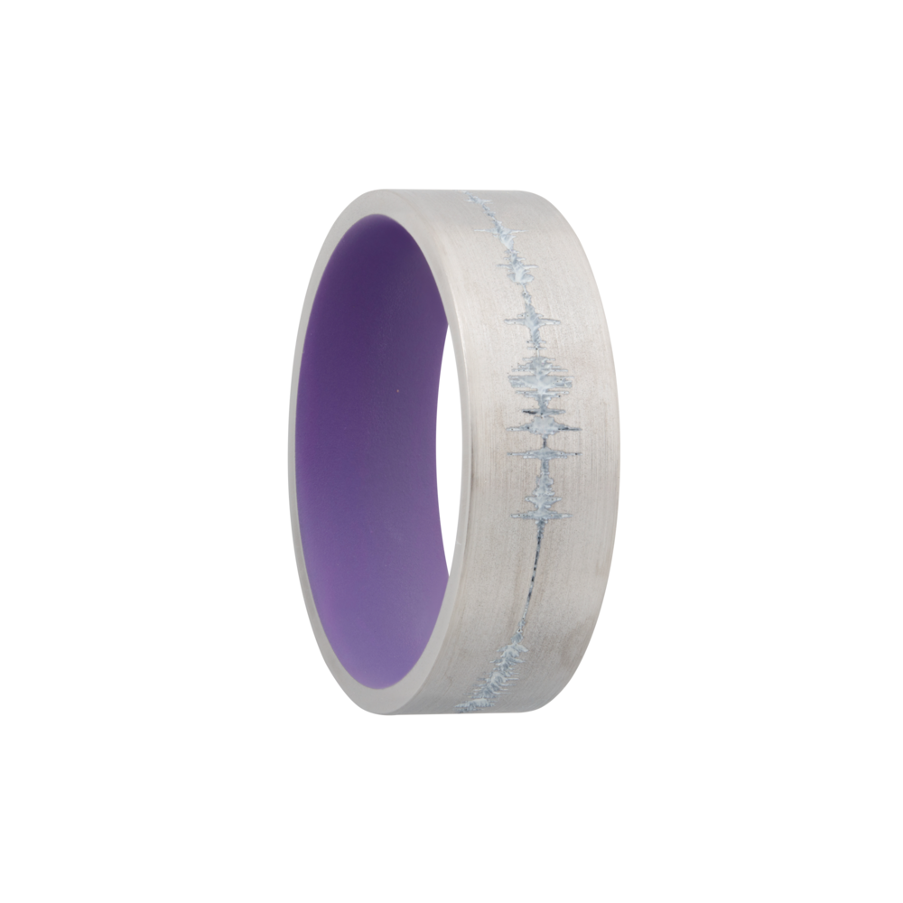 Wedding Bands - Cobalt chrome & Cerakote Wedding Band - image 2