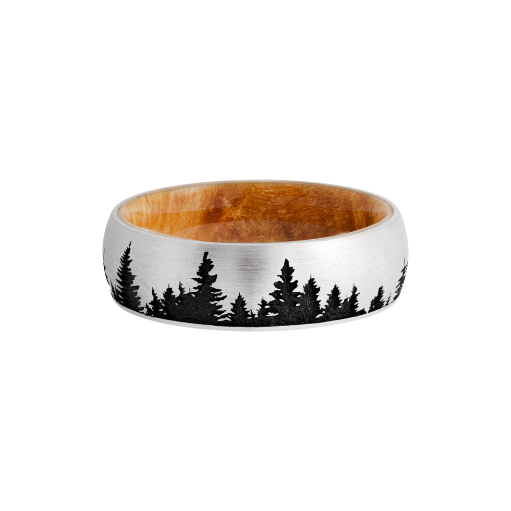 Wedding Bands - Hardwood & Titanium Wedding Band - image 3