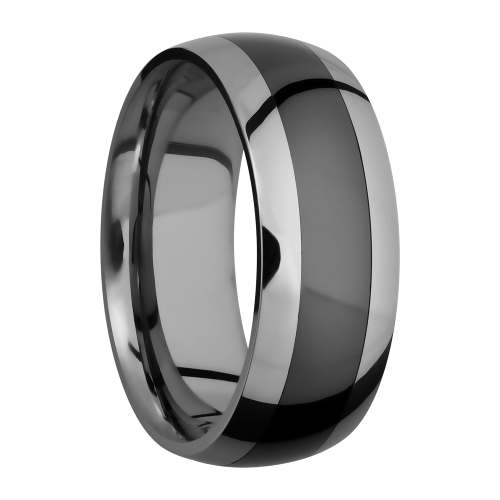 You can never go wrong with a sleek black ring whether its a wedding band or just a causal fashion ring. Shop Manl - image #2