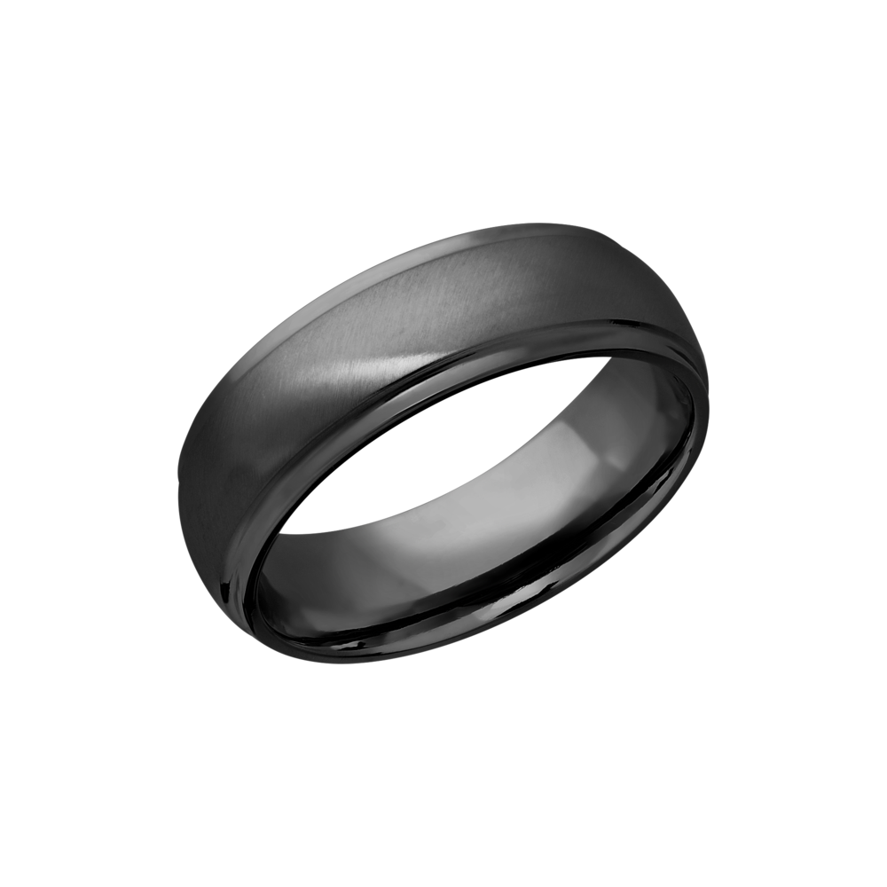 Zirconium 7mm Band by Lashbrook Designs