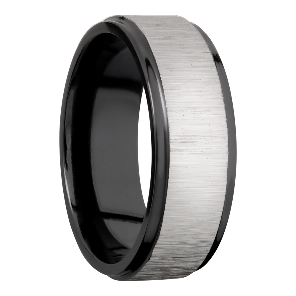 Wedding Bands - Zirconium Wedding Band - image #2