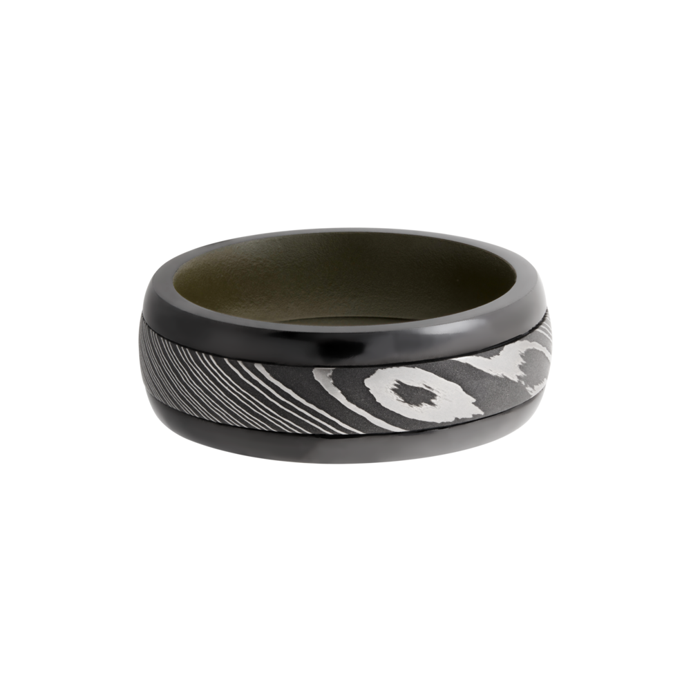 You can never go wrong with a sleek black ring whether its a wedding band or just a causal fashion ring. Shop Manl - image #3