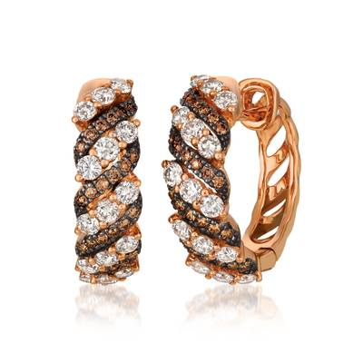 14K Strawberry Gold® Earrings by Le Vian