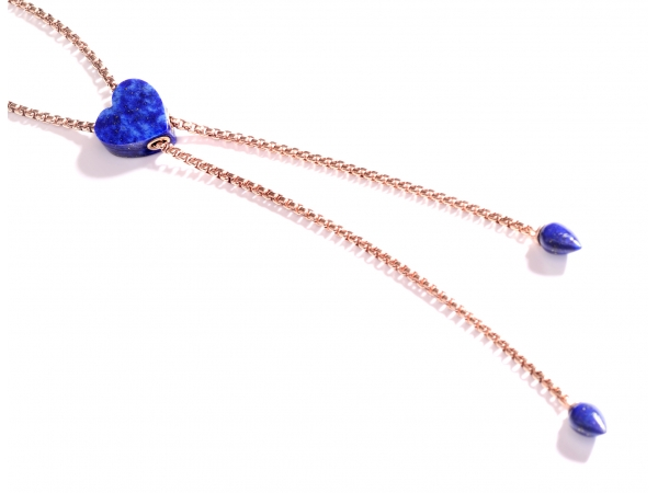LuvMyJewelry Luv Me Lapis Necklace by LuvMyJewelry