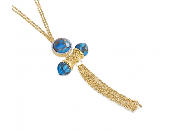 LuvMyJewelry Sunkissed Necklace by LuvMyJewelry