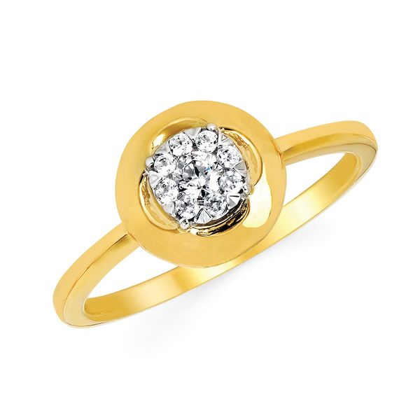 14k Yellow Gold Ring by Ostbye