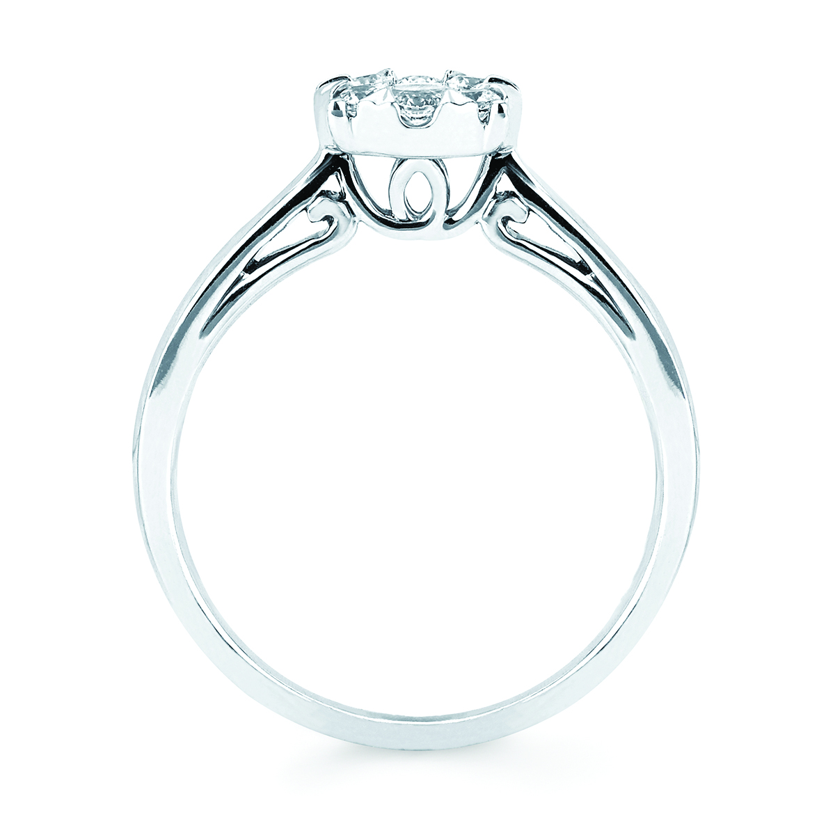 Rings - 14k White Gold Ring - image #5