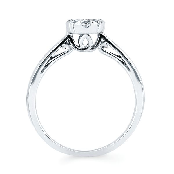 Rings - 14k White Gold Ring - image #4