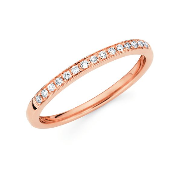 14k Rose Gold Ring by Ostbye