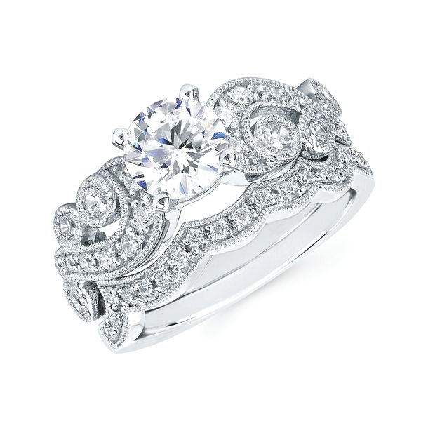 Bridal Sets - 14k White Gold Bridal Set