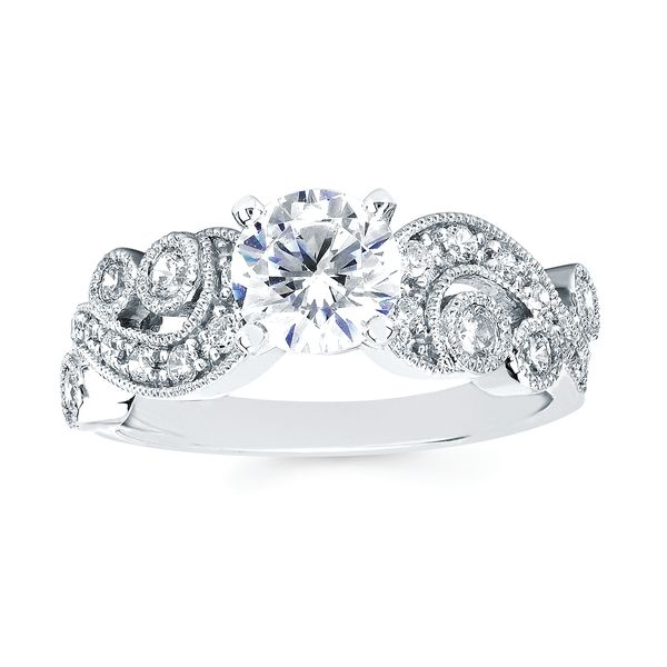 Bridal Sets - 14k White Gold Bridal Set - image 2