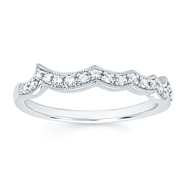 Bridal Sets - 14k White Gold Bridal Set - image #3
