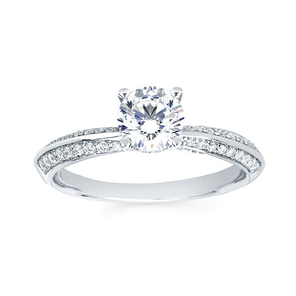 Bridal - 14k White Gold Engagement Set - image #2