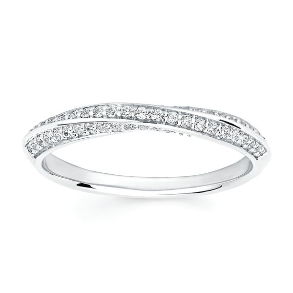 Bridal - 14k White Gold Engagement Set - image #3