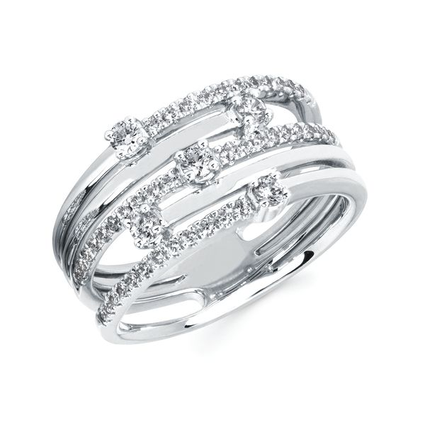 Rings - 14k White Gold Fashion Ring