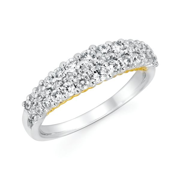 Wrap Rings - 14k White And Yellow Gold Ring