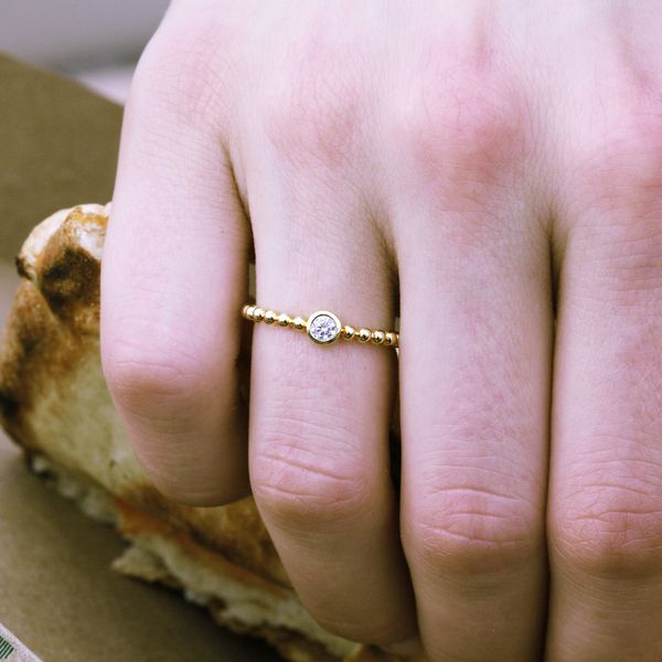 Wrap Rings - 10k Yellow Gold Ring - image 2