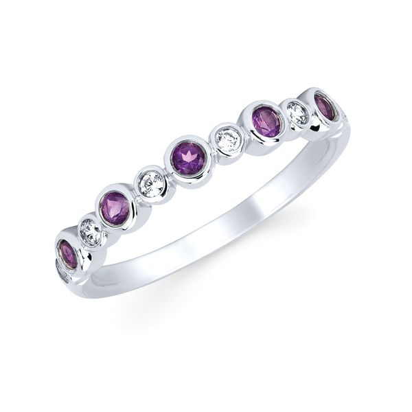 Rings - 14k White Gold Gemstone Fashion Ring