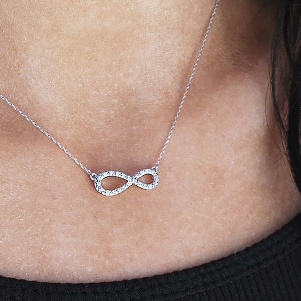 Pendants & Necklaces - 14k White Gold Pendant - image #2