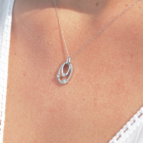 Pendants & Necklaces - 14k White Gold Pendant - image 2