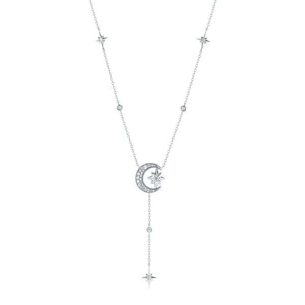 Pendants - 14k White Gold Diamond Pendant
