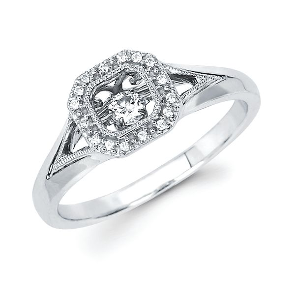 Sterling Silver Ring by Shimmering Diamonds