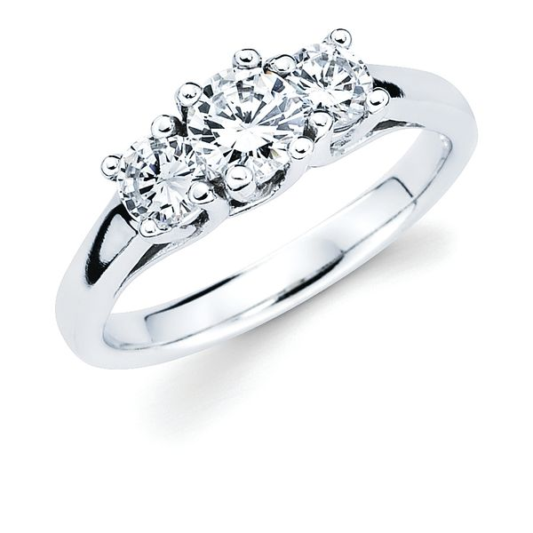 14k White Gold Ring by Ostbye