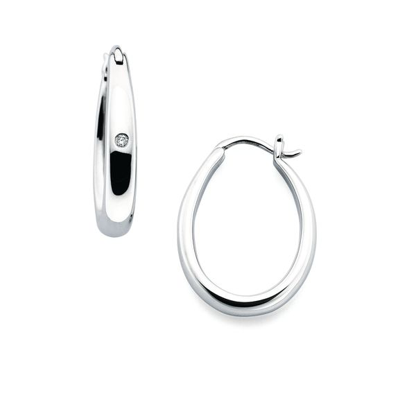 Sterling Silver Earrings by Diva Diamonds