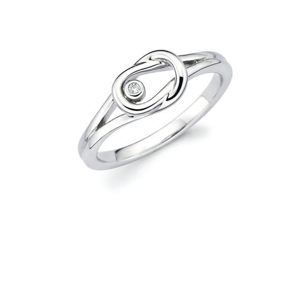 Sterling Silver Diamond Fashion Ring by Diva Diamonds
