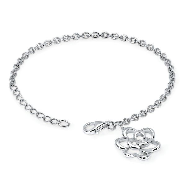 Sterling Silver Diamond Bracelet by Diva Diamonds