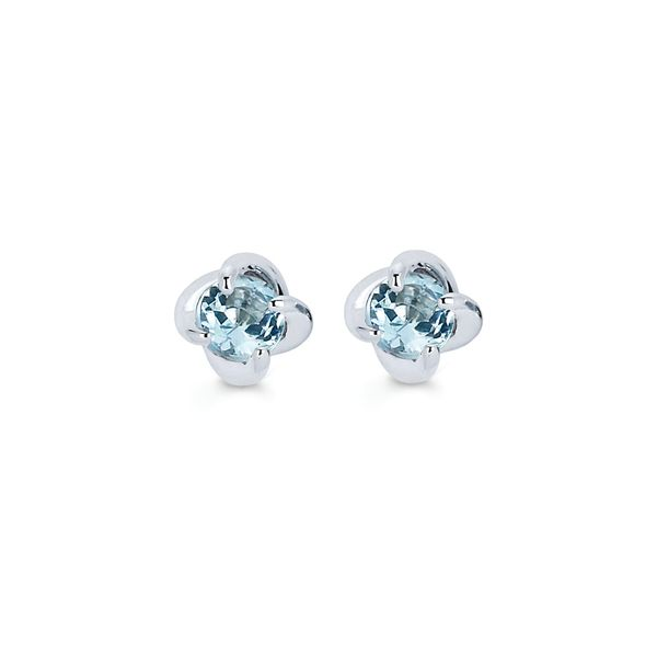 14k White Gold Earrings by Ostbye