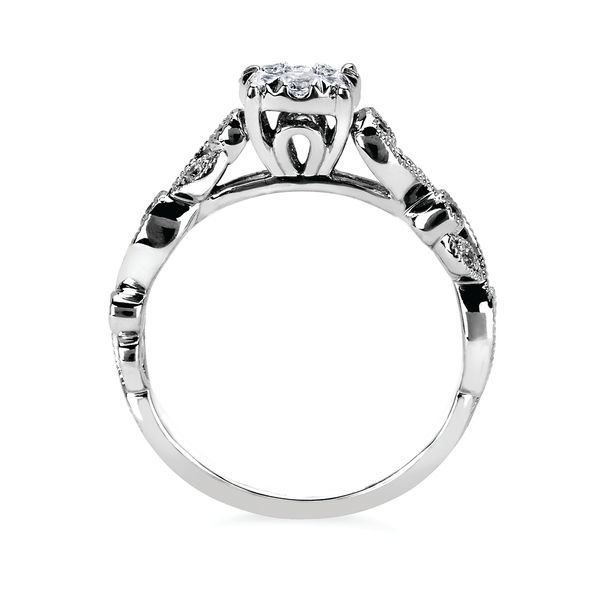 Sets - 14k White Gold Engagement Set - image #2