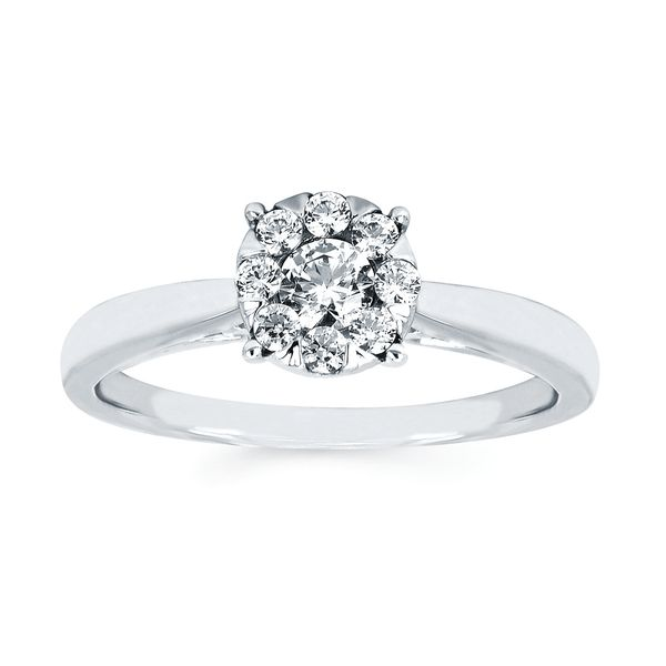 Rings - 14k White Gold Ring - image #3