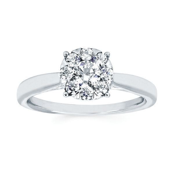 Rings - 14k White Gold Ring - image 3