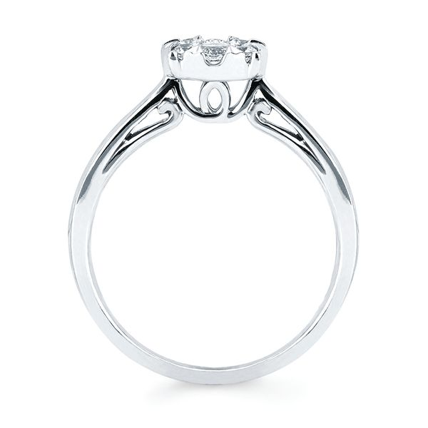 Wrap Rings - 14k White Gold Ring - image 5