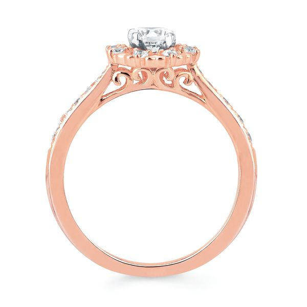 Bridal Sets - 14k Rose Gold Engagement Set - image 2