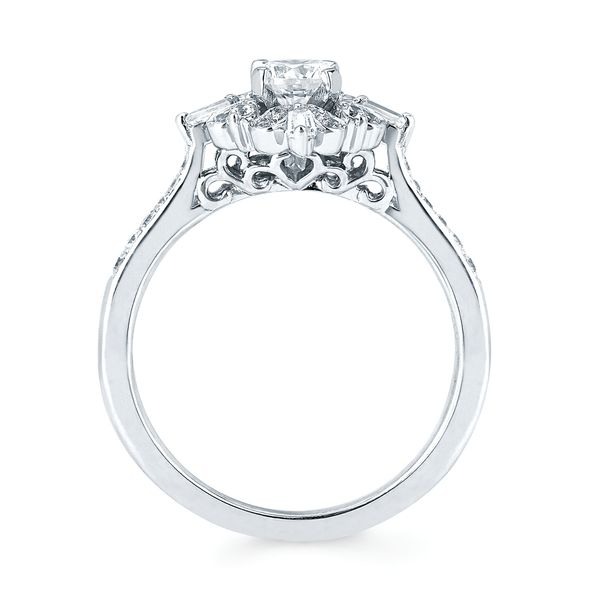 Sets - 14k White Gold Engagement Set - image 2